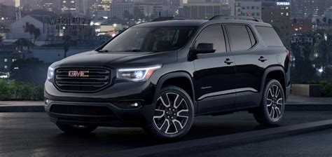 gmc acadia black edition info features wiki gm
