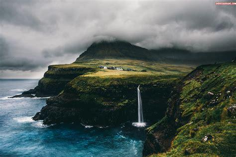 Gasadalur, Faroe islands by AndrisBarbans on DeviantArt