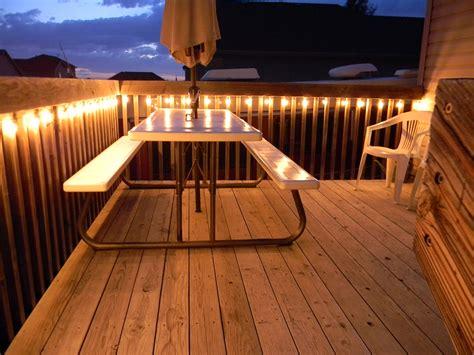 Deck Lighting Ideas