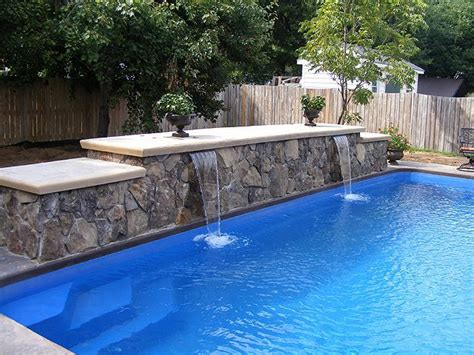 swimming pool features pool and outdoor kitchen on pinterest pool ideas pools
