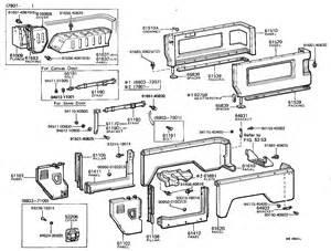 Toyota Land Cruiser Body Parts Diagram