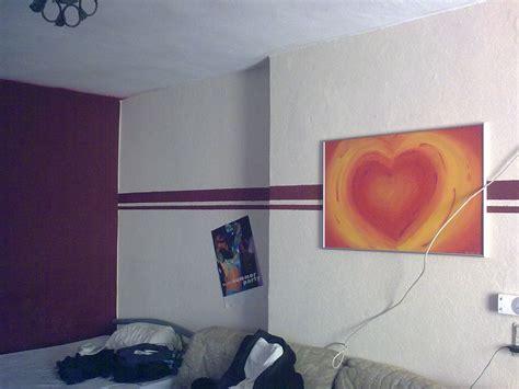 Wanddeko Mit Farbe by Mit Farbe Wandmuster Streichen Kreative Wandgestaltung