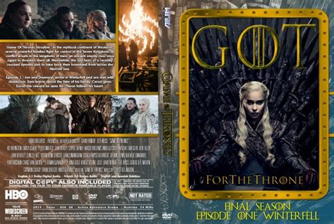 game  thrones season  episode  dvd covers