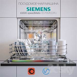 3d models kitchen appliance dishwasher siemens for Siemens speedmatic