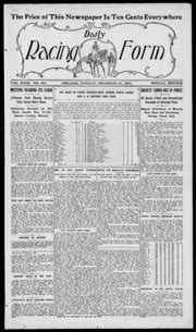 daily racing form n monday december 1917 daily racing form free download borrow