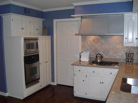 blue and white kitchen cabinets attachment blue kitchens with white cabinets 584