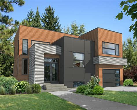 exciting modern house plan