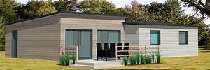 maison bois moderne plain pied idee interessante pour la With idee maison plain pied 11 maison contemporaine modele