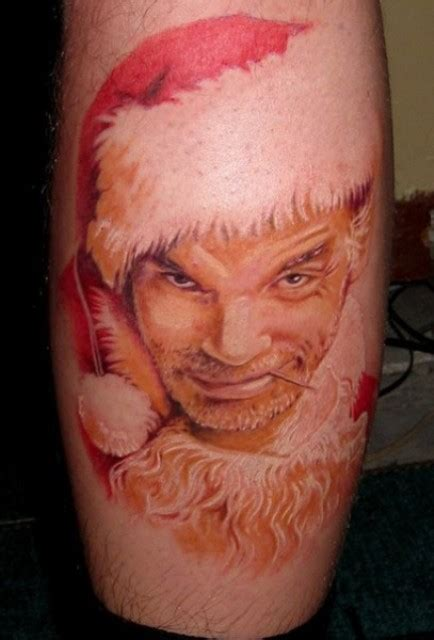 funny christmas holiday tattoos snappy pixels