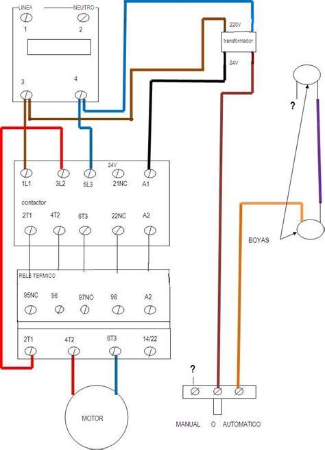 circuito de contactor con timer digital electricidad ibf