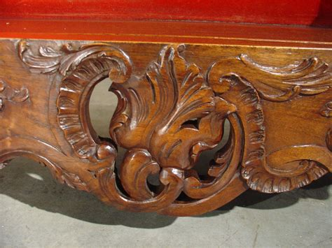 antique french walnut wood estagnier plate rack  sale  stdibs