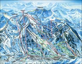 Snowbird Utah Ski Resort Map
