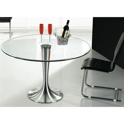 table ronde en verre pas cher table ronde verre sur