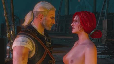 The Witcher 3wild Hunt Triss Merigold Nude Mod With Sex