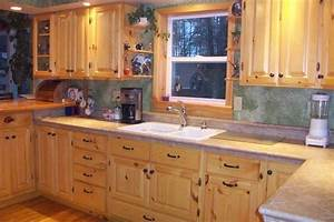 Knotty Pine Kitchen Cabinets For the Home Pinterest
