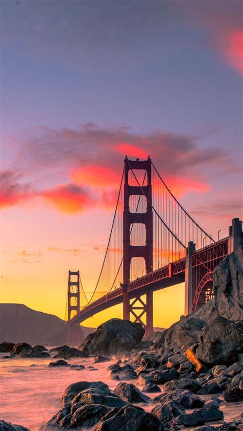wallpaper golden gate bridge san francisco usa autumn
