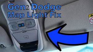 Gen2 Dodge Ram 1500 Sport Overhead Console Map Light