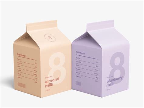 milk carton mockup   milk carton milk milk packaging