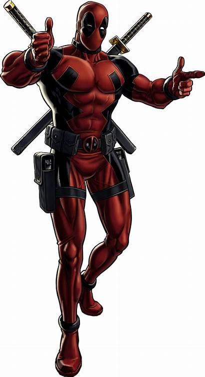 Deadpool Portrait Avengers Marvel Characters Alliance Items
