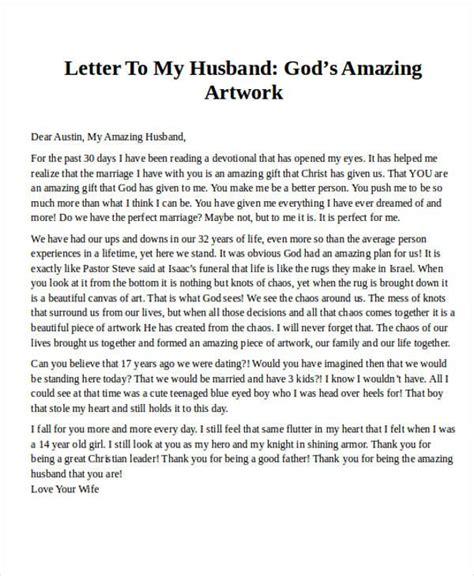 love letter  husband sample cover head start teacher