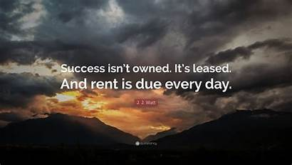 Success Due Rent Owned Watt Isn Leased