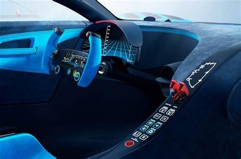 Bugatti Gran Turismo Interior by Bugatti Vision Gran Turismo Prototype Revealed At Frankfurt