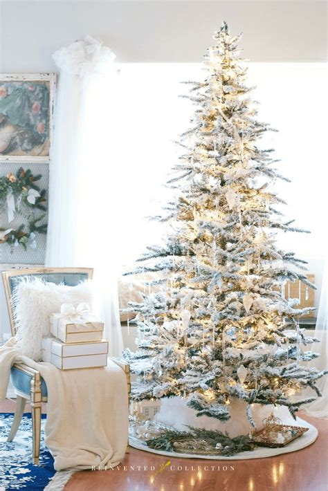 best price real christmas tree best 25 flocked trees ideas on white trees white flocked