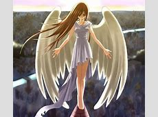 Anime Girl with Wings 19770walljpg Projects to Try