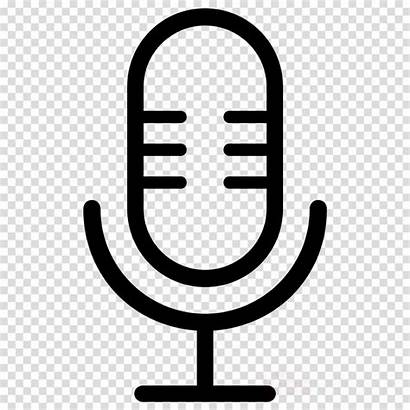 Podcast Symbol Transparent Clipart Icon Text Microphone