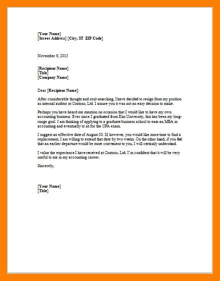 resignation letter microsoft template resignition letter