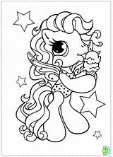 Coloring Pony Algae Dinokids Template Close sketch template