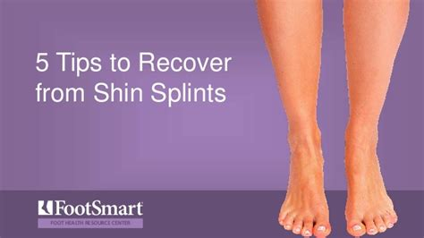5 Tips To Recover From Shin Splints