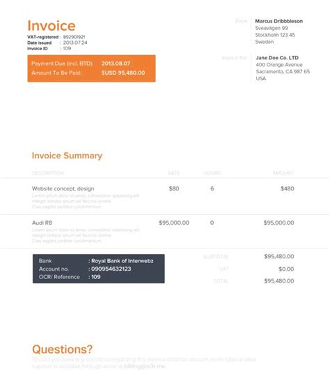 business  images  pinterest invoice