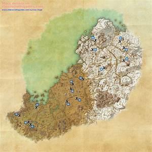 Wrothgar Survey Maps Elder Scrolls Online Guides