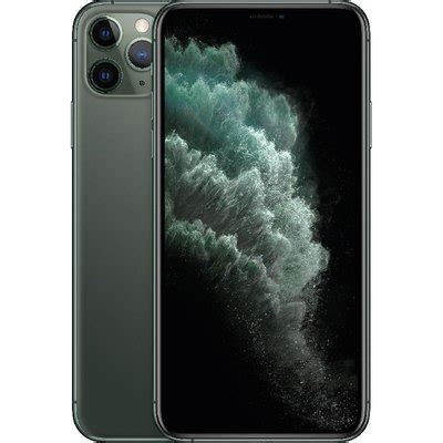 apple iphone pro max gb midnight green saudi