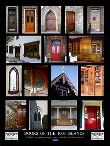 Doors of the 1000 Islands Poster - HISTORIC BUILDING Co