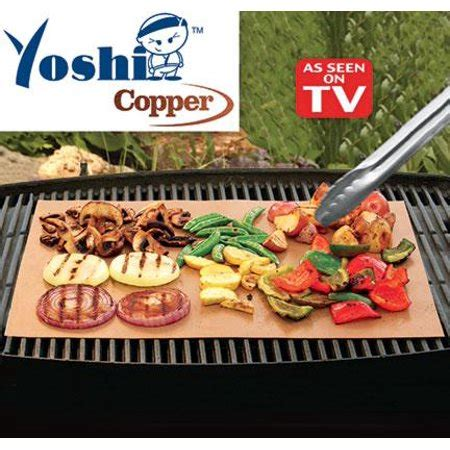 grill mat as seen on tv as seen on tv grill mat yoshi copper grilling accessory
