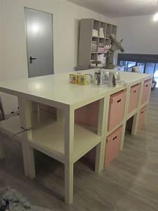 creation d39une table de decoupe pour l39atelier couture With comment faire une decoupe dans un plan de travail