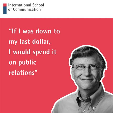 We love this PR quote from Bill Gates so much it's written ...