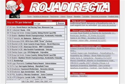 ROJADIRECTA | Futbol gratis, Futbol en vivo, Internet