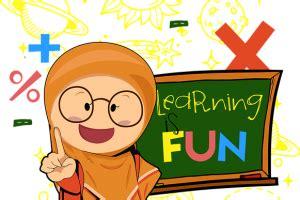 ide background sekolahan kartun purify