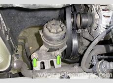 BMW Z3 Power Steering Pump Replacement 19962002