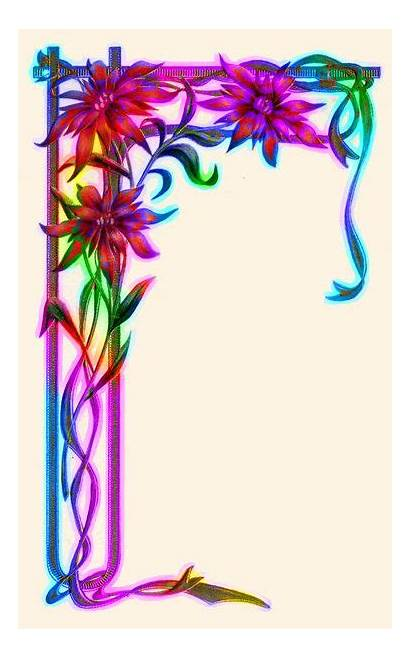 Borders Colourful Border Designs Paper Frame Colorful