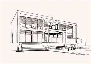 dessin architecte maison segu maison With dessin plan de maison 0 lintemporel dessin design architecture