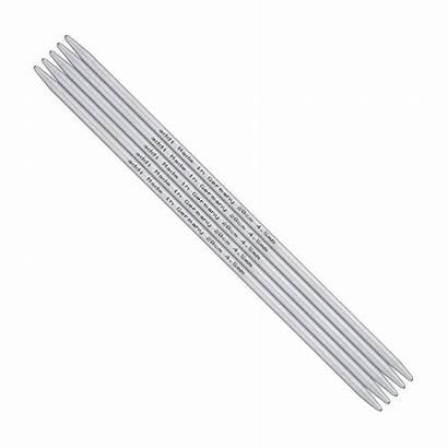 Needles Aluminium Pointed Double Addi Dpn 20cm
