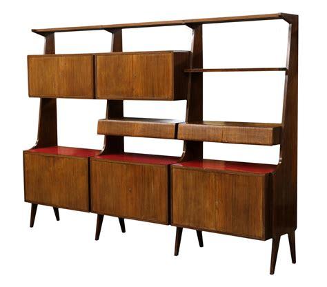 mid century modern bookcase italian mid century modern rosewood bookcase special