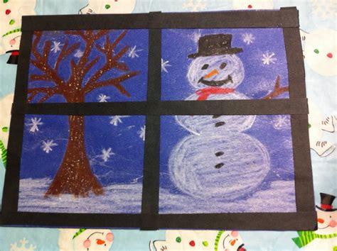 christmas art for kindergarten kindergarten at play december 2012