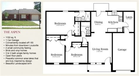 bedroom single family home floor plans archives