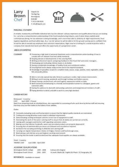 cook resume skills resume exles