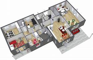 4 Bedroom Floor Plans RoomSketcher
